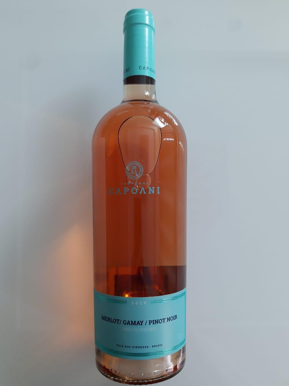 Vinho Vinhedos Capoani Rosé 750ml
