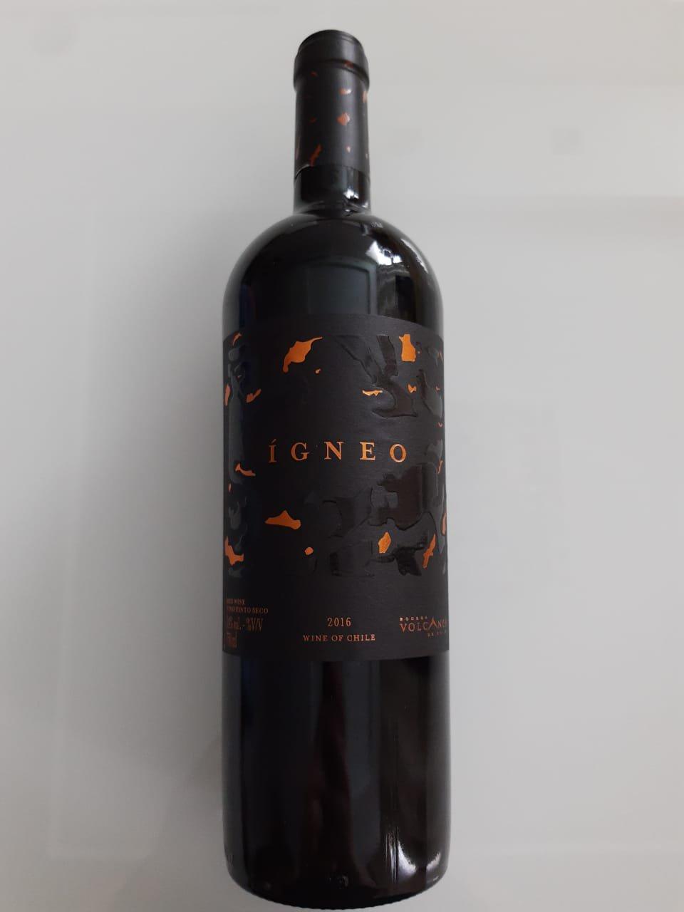 Vinho Volcanes Ígneo 750ml