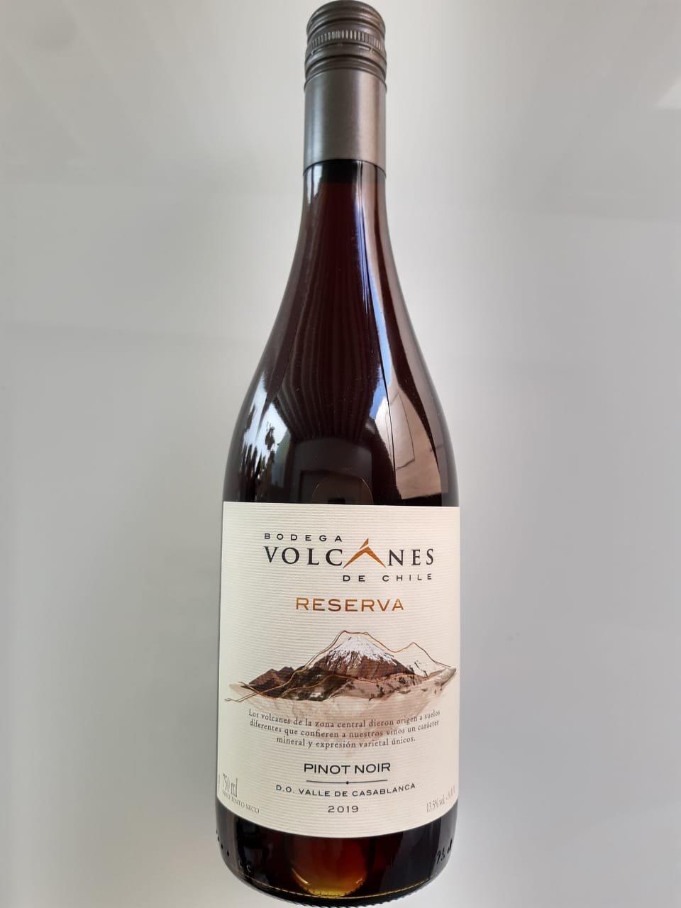 Vinho Volcanes Reserva Pinot Noir 750ml
