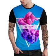 Stompy Camiseta Estampada Masculina Modelo 04