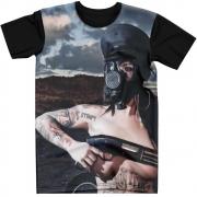 Stompy Camiseta Estampada Masculina Modelo 103