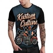Stompy Camiseta Estampada Masculina Modelo 108