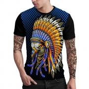 Stompy Camiseta Estampada Masculina Modelo 115