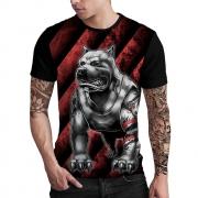Stompy Camiseta Estampada Masculina Modelo 118