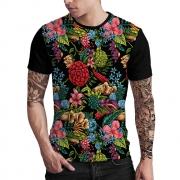 Stompy Camiseta Estampada Masculina Modelo 128