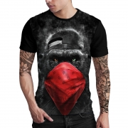 Stompy Camiseta Estampada Masculina Modelo 130
