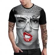 Stompy Camiseta Estampada Masculina Modelo 138