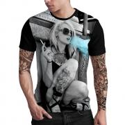 Stompy Camiseta Estampada Masculina Modelo 141