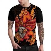 Stompy Camiseta Estampada Masculina Modelo 145