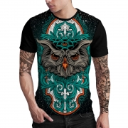 Stompy Camiseta Estampada Masculina Modelo 146