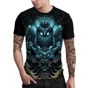 Stompy Camiseta Estampada Masculina Modelo 150