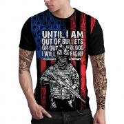 Stompy Camiseta Estampada Masculina Modelo 152