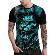 Stompy Camiseta Estampada Masculina Modelo 22