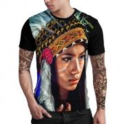 Stompy Camiseta Estampada Masculina Modelo 24