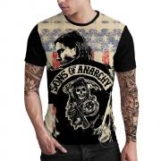 Stompy Camiseta Estampada Masculina Modelo 47
