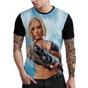 Stompy Camiseta Estampada Masculina Modelo 50