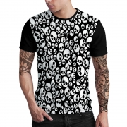 Stompy Camiseta Estampada Masculina Modelo 62