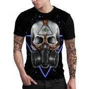 Stompy Camiseta Estampada Masculina Modelo 63
