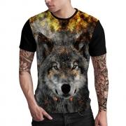 Stompy Camiseta Estampada Masculina Modelo 70