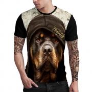 Stompy Camiseta Estampada Masculina Modelo 73