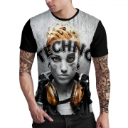 Stompy Camiseta Estampada Masculina Modelo 76