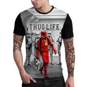 Stompy Camiseta Estampada Masculina Modelo 77