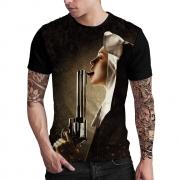 Stompy Camiseta Estampada Masculina Modelo 79