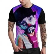 Stompy Camiseta Estampada Masculina Modelo 89