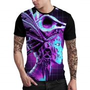 Stompy Camiseta Estampada Masculina Modelo 92