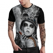 Stompy Camiseta Estampada Masculina Modelo 93