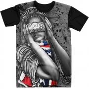 Stompy Camiseta Estampada Masculina Modelo 95