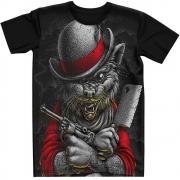 Stompy Camiseta Estampada Masculina Modelo 96