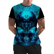 Stompy Camiseta Manga Curta Psicodelica Modelo 06