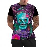 Stompy Camiseta Manga Curta Psicodelica Modelo 07
