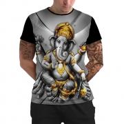 Stompy Camiseta Manga Curta Psicodelica Modelo 13