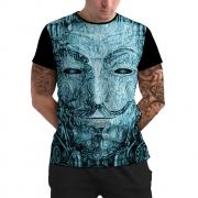 Stompy Camiseta Manga Curta Psicodelica Modelo 20