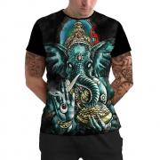 Stompy Camiseta Manga Curta Psicodelica Modelo 34