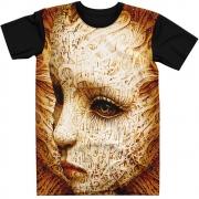 Stompy Camiseta Manga Curta Psicodelica Modelo 44