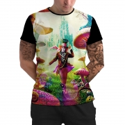 Stompy Camiseta Manga Curta Psicodelica Modelo 50