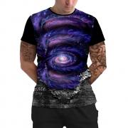 Stompy Camiseta Manga Curta Psicodelica Modelo 64