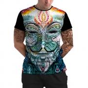 Stompy Camiseta Manga Curta Psicodelica Modelo 67