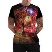 Stompy Camiseta Manga Curta Psicodelica Modelo 75