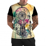 Stompy Camiseta Manga Curta Psicodelica Modelo 79