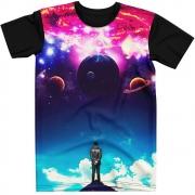 Stompy Camiseta Manga Curta Psicodelica Modelo 85