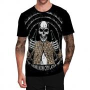 Stompy Camiseta Tattoo Tatuagem Caveira Skull 02