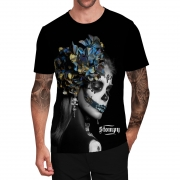 Stompy Camiseta Tattoo Tatuagem Caveira Skull 03