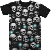 Stompy Camiseta Tattoo Tatuagem Caveira Skull 06