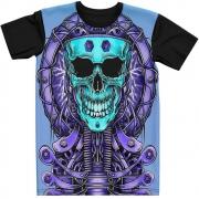 Stompy Camiseta Tattoo Tatuagem Caveira Skull 100