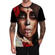 Stompy Camiseta Tattoo Tatuagem Caveira Skull 111