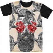 Stompy Camiseta Tattoo Tatuagem Caveira Skull 114